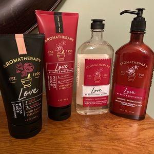 NEW Bath & Body Works Bundle 4 piece Aromatherapy